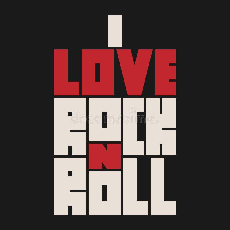 Εγγραφή ρόλων βράχου ν με την επίδραση grunge Σχέδιο μόδας μπλουζών ελεύθερη απεικόνιση δικαιώματος