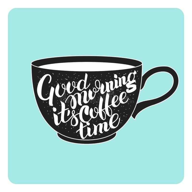 Εγγραφή στο φλυτζάνι καφέ στοκ φωτογραφίες