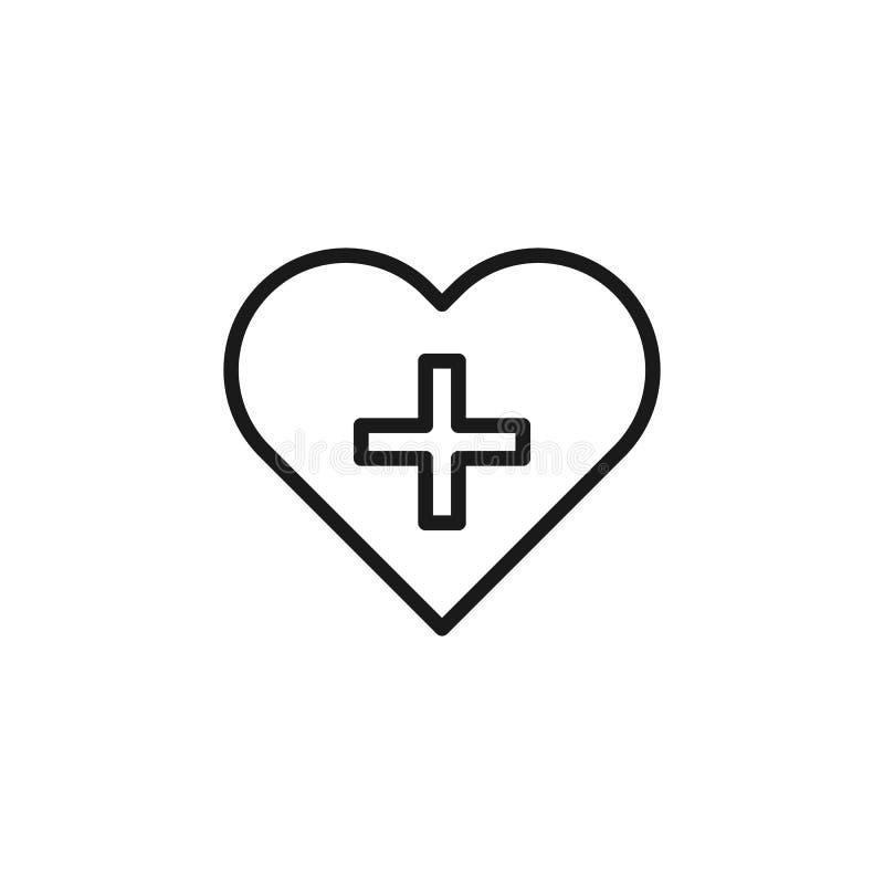 Εγκαταλείψτε, εικονίδιο καρδιών r Λεπτό εικονίδιο γραμμών για το σχέδιο ιστοχώρου και την ανάπτυξη, app ανάπτυξη απεικόνιση αποθεμάτων