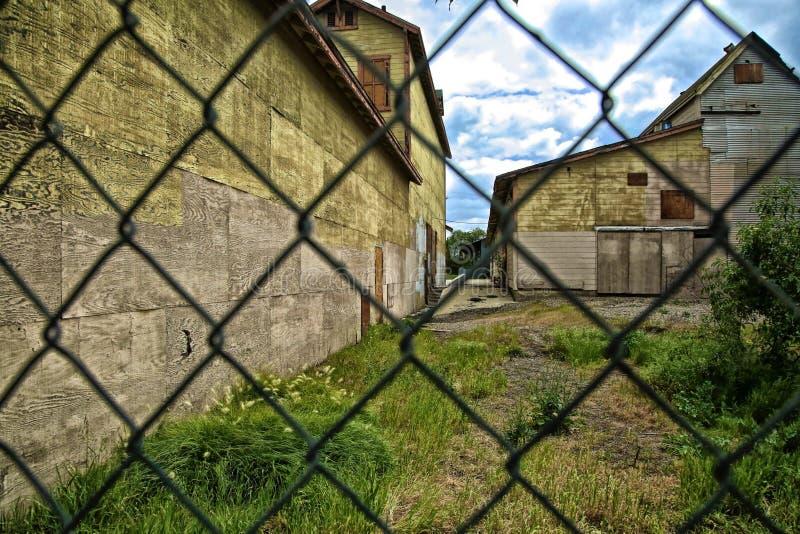 Εγκαταλειμμένη ιδιοκτησία στοκ εικόνα με δικαίωμα ελεύθερης χρήσης