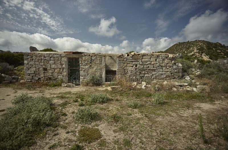 εγκαταλειμμένη πέτρα κτηρί στοκ φωτογραφία με δικαίωμα ελεύθερης χρήσης