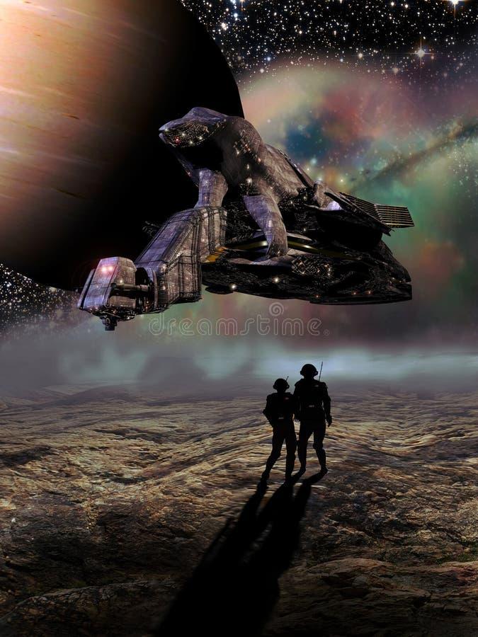 Download εγκαταλειμμένοι αστροναύτες Απεικόνιση αποθεμάτων - εικονογραφία από απεικόνιση, φανταστικός: 22798740