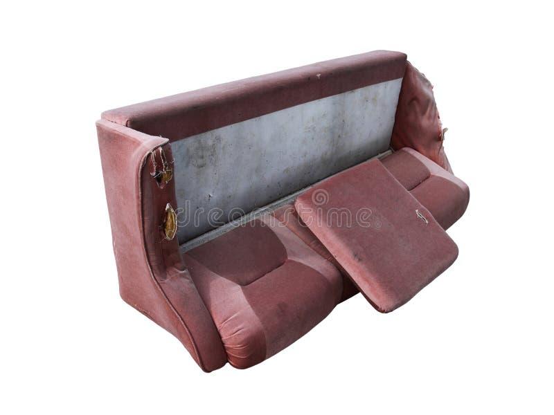 εγκαταλειμμένος καναπέ&si στοκ εικόνες με δικαίωμα ελεύθερης χρήσης