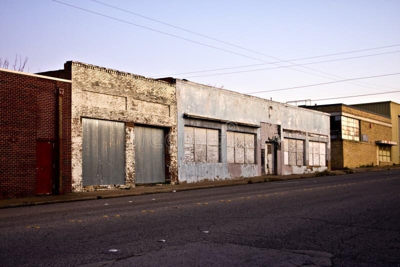 εγκαταλειμμένος storefront στοκ εικόνα με δικαίωμα ελεύθερης χρήσης
