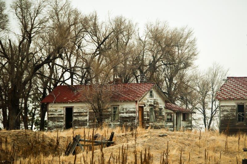 εγκαταλειμμένο αγρόκτημ& στοκ εικόνα με δικαίωμα ελεύθερης χρήσης