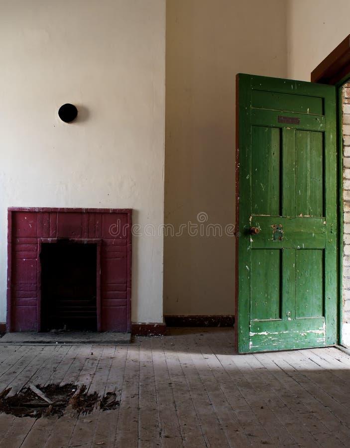 εγκαταλειμμένο δωμάτιο στοκ φωτογραφία με δικαίωμα ελεύθερης χρήσης