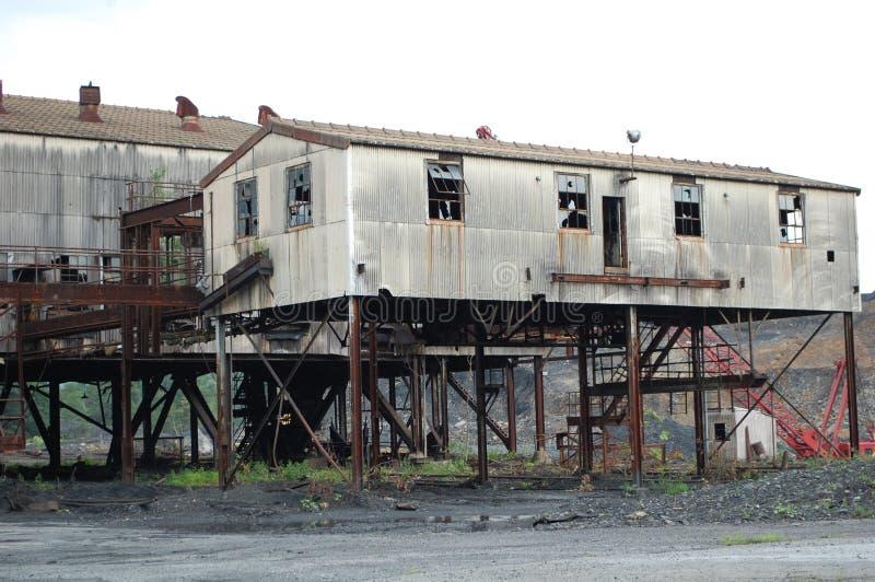 Εγκαταλειμμένο εργοστάσιο στοκ εικόνες με δικαίωμα ελεύθερης χρήσης