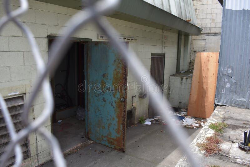 Εγκαταλειμμένο εστιατόριο Σαν Φρανσίσκο, 7 οικογένεια-ύφους στοκ φωτογραφίες με δικαίωμα ελεύθερης χρήσης