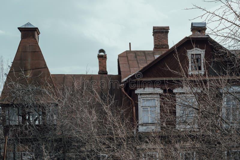Εγκαταλειμμένο παλαιό σπίτι Τεμάχιο E στοκ φωτογραφία με δικαίωμα ελεύθερης χρήσης