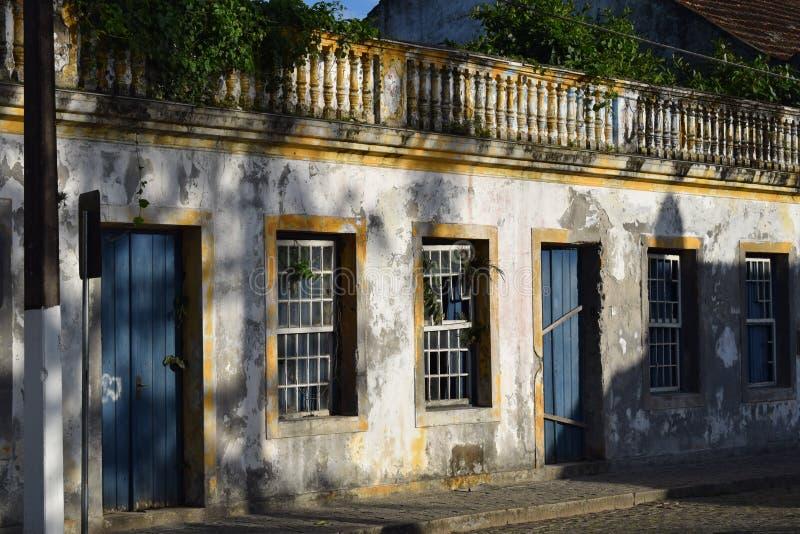 Εγκαταλειμμένο σπίτι στη Βραζιλία στοκ εικόνες
