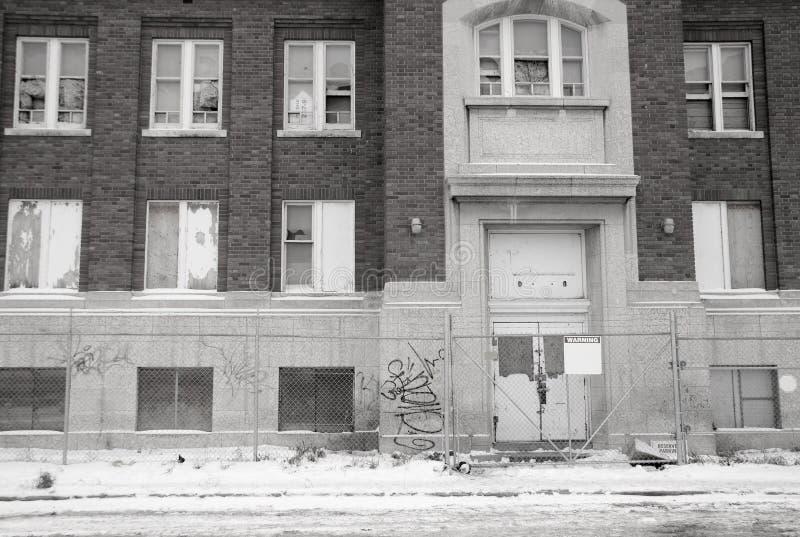 Εγκαταλειμμένο σχολείο στοκ εικόνες
