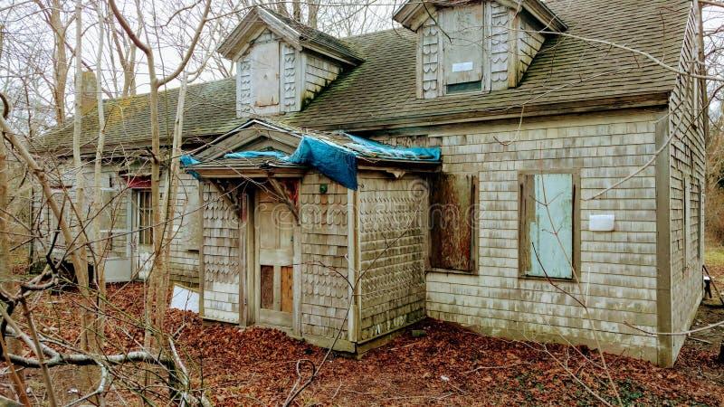 εγκαταλειμμένο farmhouse στοκ εικόνες