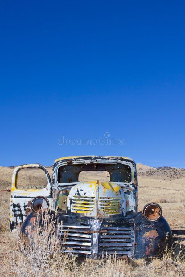 εγκαταλειμμένο truck στοκ φωτογραφίες
