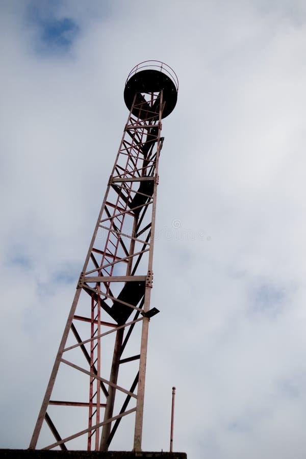 Εγκαταλελειμμένος πύργος ναυσιπλοΐας στοκ φωτογραφίες