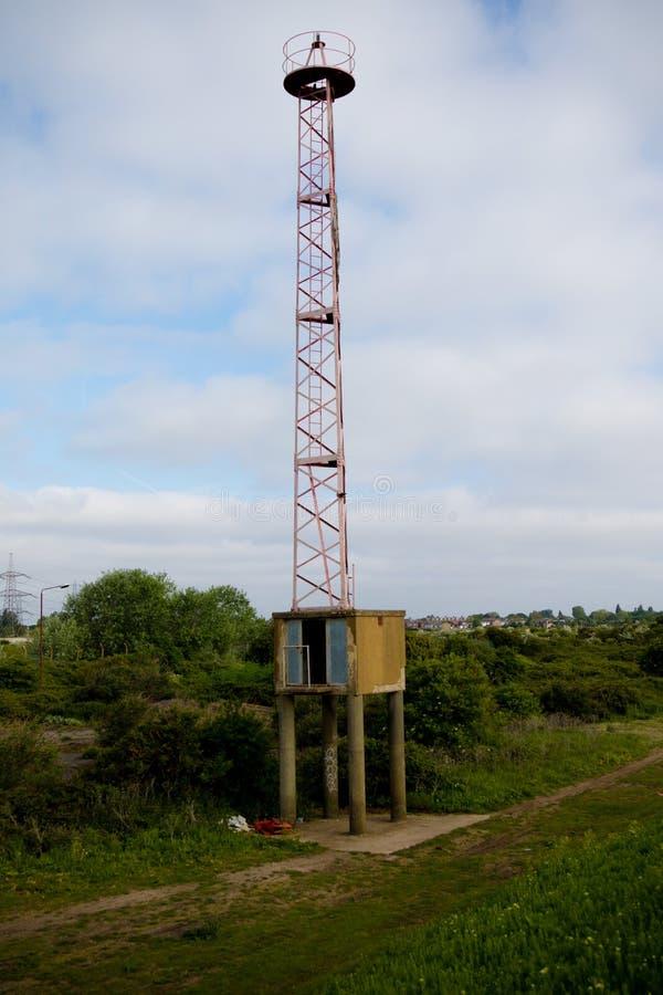 Εγκαταλελειμμένος πύργος ναυσιπλοΐας στοκ εικόνες με δικαίωμα ελεύθερης χρήσης