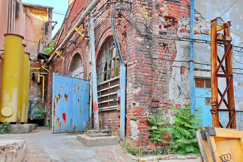 Εγκαταλελειμμένο εργοστάσιο στοκ φωτογραφία με δικαίωμα ελεύθερης χρήσης