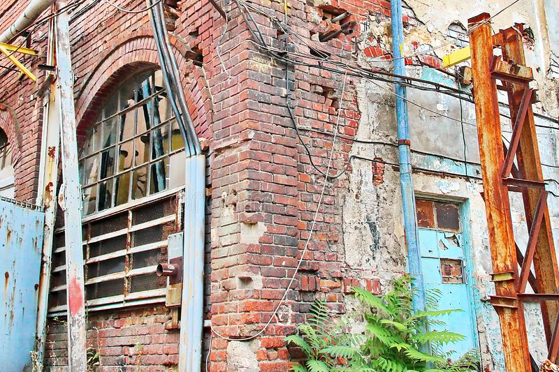 Εγκαταλελειμμένο εργοστάσιο στοκ φωτογραφίες