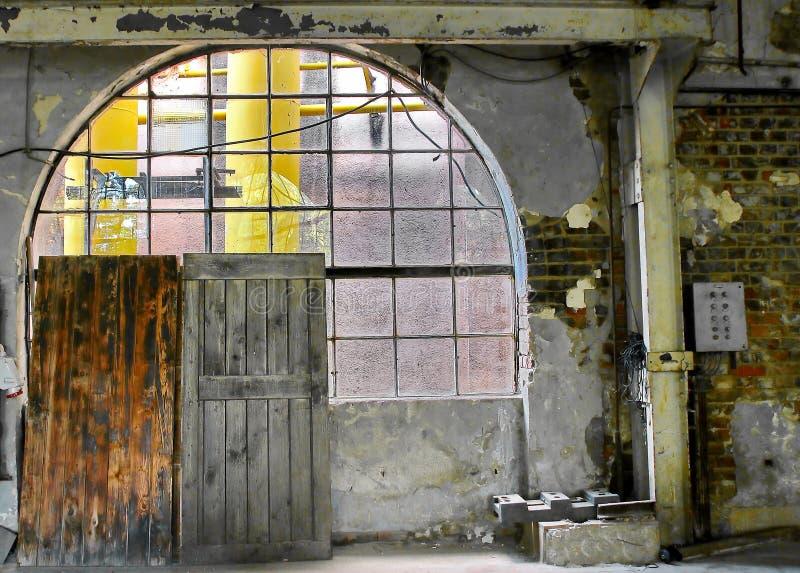 Εγκαταλελειμμένο εργοστάσιο στοκ φωτογραφίες με δικαίωμα ελεύθερης χρήσης