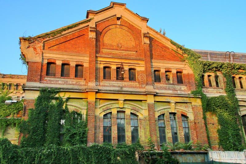 Εγκαταλελειμμένο εργοστάσιο στοκ φωτογραφία