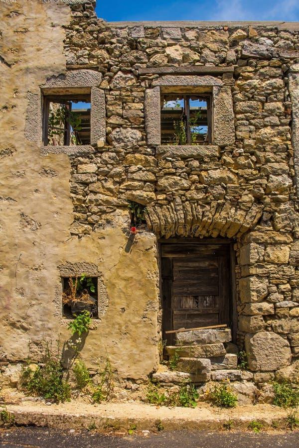 Εγκαταλελειμμένο κτήριο σε Clabuzzaro στοκ εικόνες με δικαίωμα ελεύθερης χρήσης