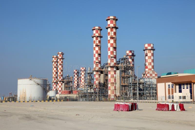 Εγκαταστάσεις σταθμών παραγωγής ηλεκτρικού ρεύματος στοκ εικόνα