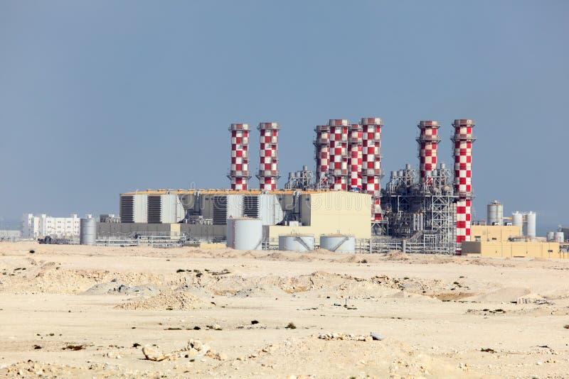 Εγκαταστάσεις σταθμών παραγωγής ηλεκτρικού ρεύματος στοκ εικόνες με δικαίωμα ελεύθερης χρήσης