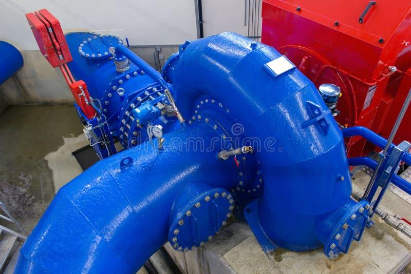 Εγκαταστάσεις υδρο παραγωγής ενέργειας στοκ εικόνες