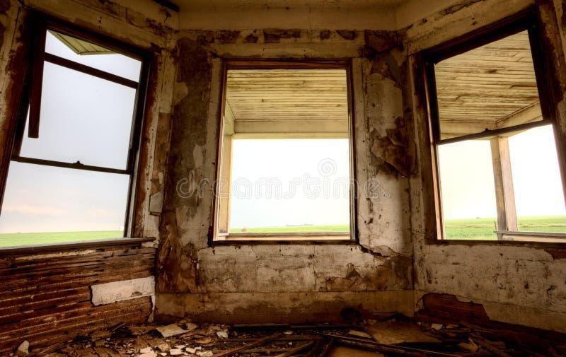 Εγκαταλειμμένη εσωτερικό οικοδόμηση στοκ εικόνα