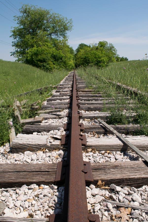 Εγκαταλειμμένη προοπτική σιδηροδρόμου στοκ φωτογραφία με δικαίωμα ελεύθερης χρήσης