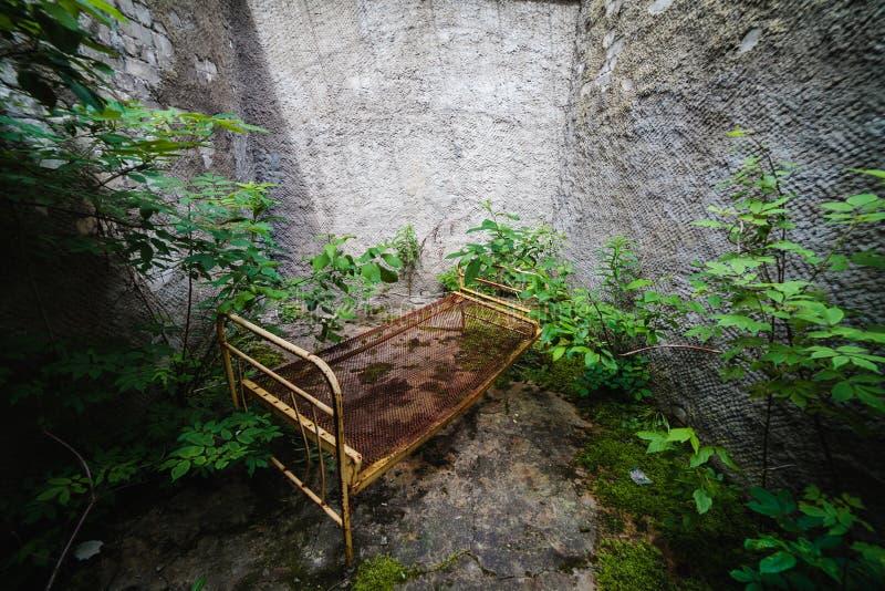 Εγκαταλειμμένη φυλακή, Patarei στο Ταλίν, Εσθονία στοκ εικόνα