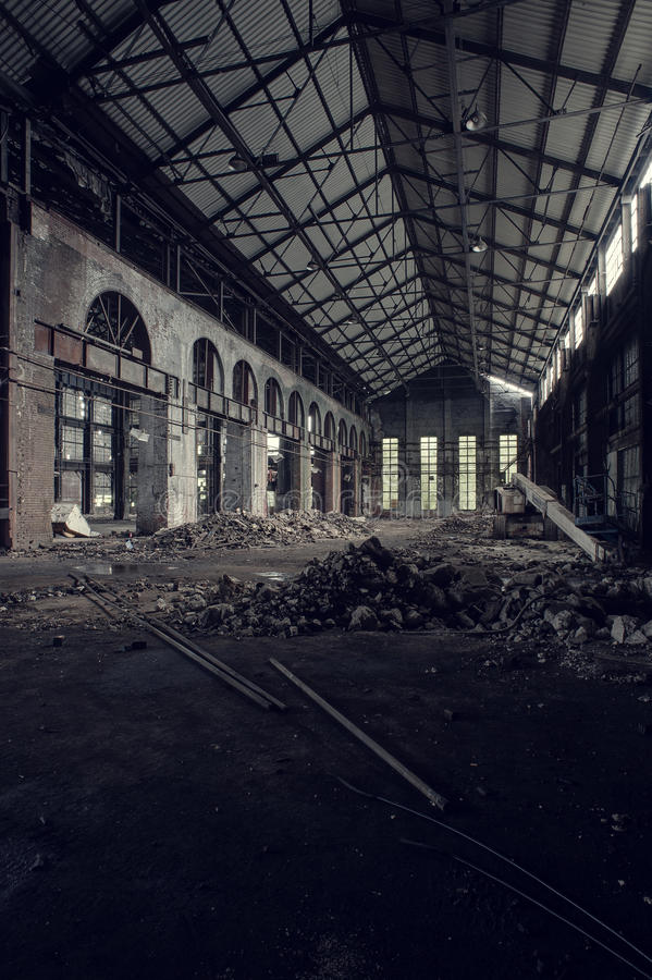 Εγκαταλειμμένος απογαλακτίστε το ενωμένο εργοστάσιο - Youngstown, Οχάιο στοκ εικόνα με δικαίωμα ελεύθερης χρήσης