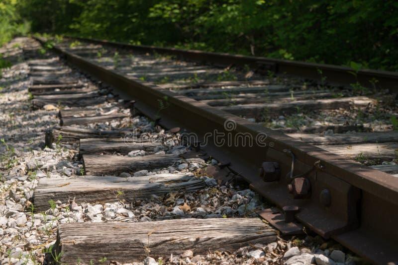 εγκαταλειμμένος σιδηρόδρομος στοκ εικόνες
