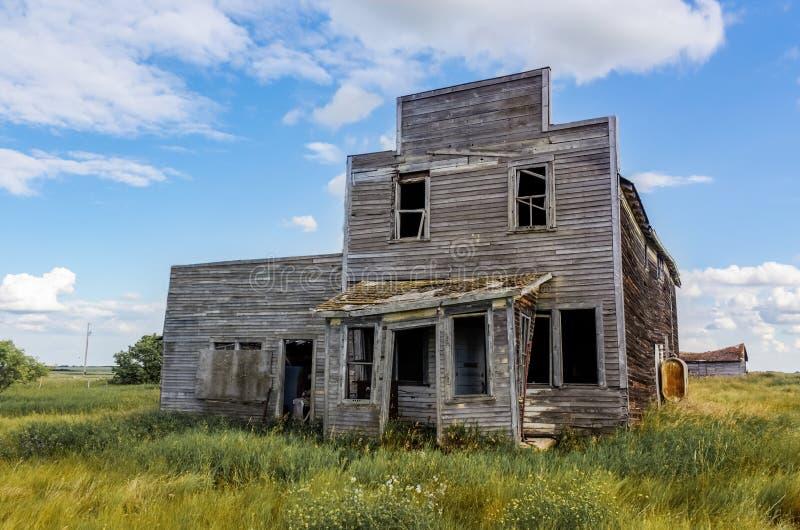 Εγκαταλειμμένο κατάστημα στοκ φωτογραφίες
