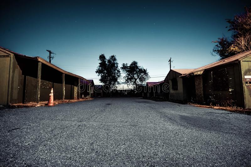 Εγκαταλειμμένο ξενοδοχείο στοκ φωτογραφίες