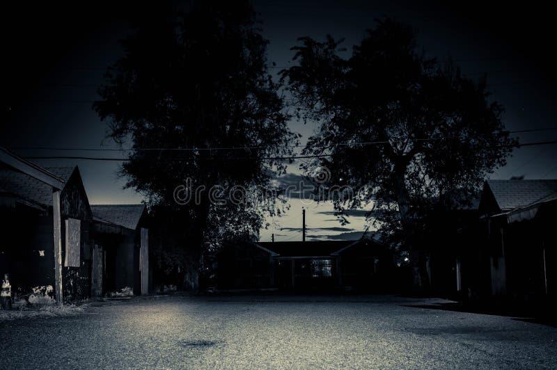 Εγκαταλειμμένο ξενοδοχείο στοκ εικόνες
