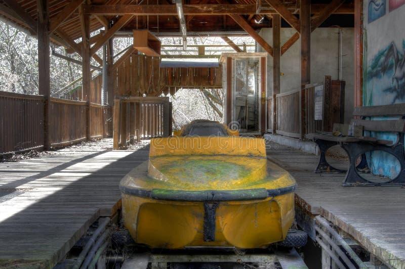 Εγκαταλειμμένο λούνα παρκ Spreepark στο Βερολίνο στοκ εικόνες
