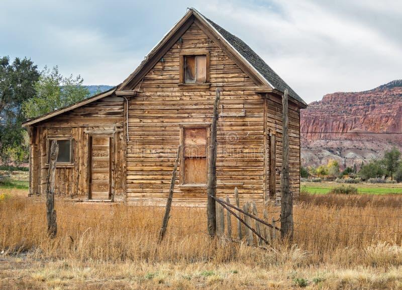 Εγκαταλειμμένο σπίτι, Torrey, Γιούτα στοκ εικόνα με δικαίωμα ελεύθερης χρήσης