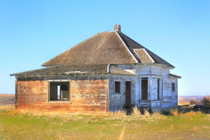 Εγκαταλειμμένο συνοριακό σπίτι στοκ εικόνες με δικαίωμα ελεύθερης χρήσης