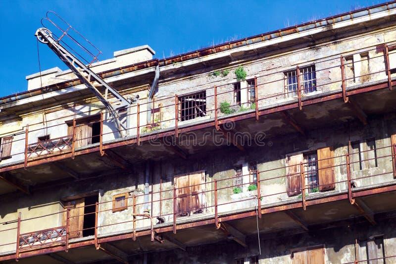 Εγκαταλειμμένο stockhouse στοκ φωτογραφίες