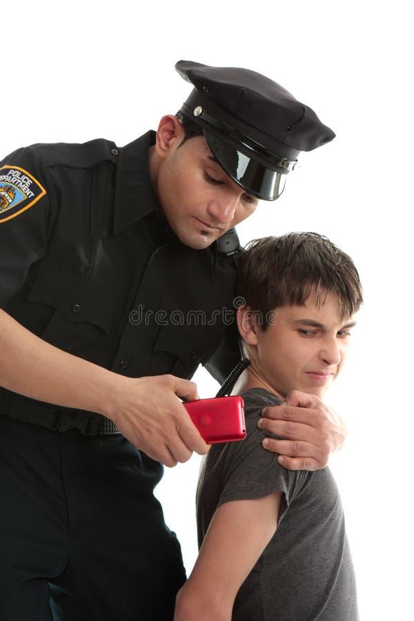 εγκληματικός νεανικός έφ&e στοκ εικόνα