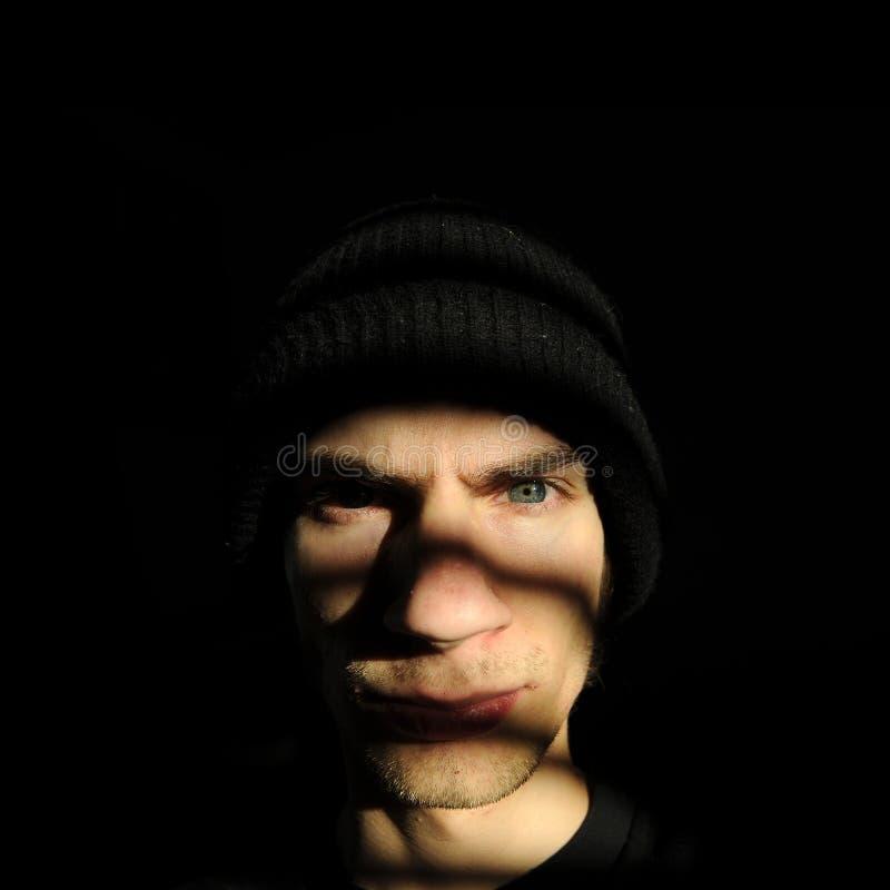 εγκληματικός νεαρός στοκ εικόνα