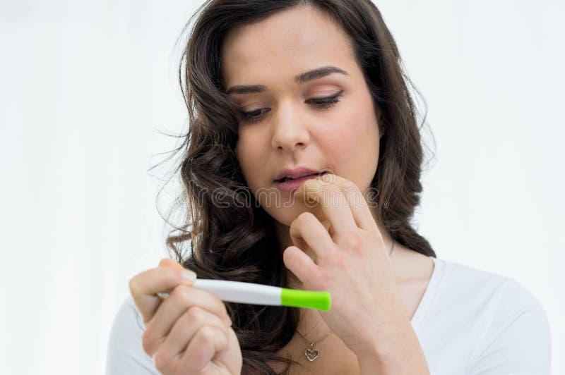 εγκυμοσύνη ανεπιθύμητη στοκ φωτογραφία με δικαίωμα ελεύθερης χρήσης