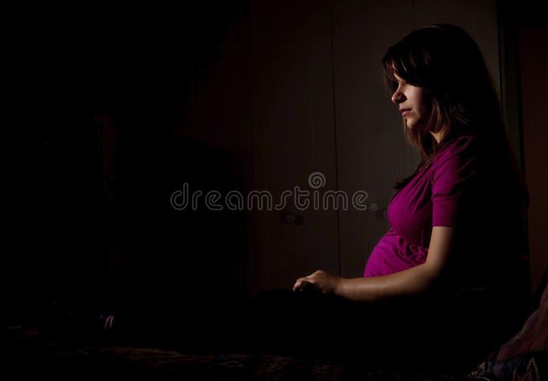 εγκυμοσύνη εφηβική στοκ φωτογραφίες με δικαίωμα ελεύθερης χρήσης