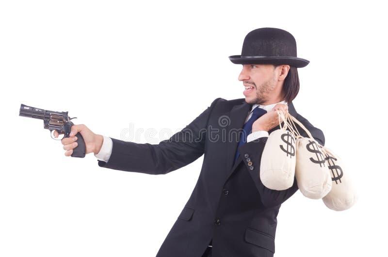 Εγκληματίας επιχειρηματιών στοκ εικόνες