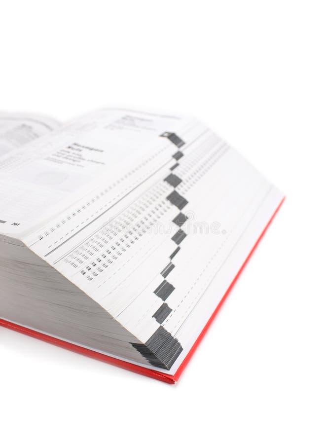 εγχειρίδιο βιβλίων στοκ φωτογραφίες