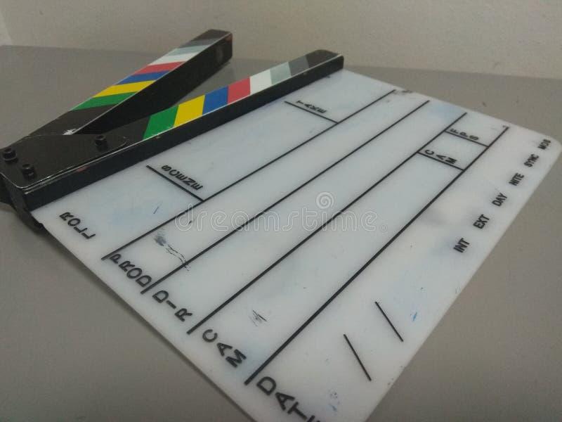 εγχειρίδιο πλακών κινηματογράφων στοκ φωτογραφία