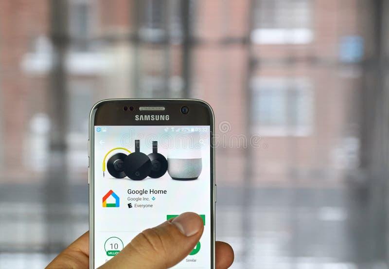 Εγχώρια εφαρμογή Google στοκ φωτογραφίες με δικαίωμα ελεύθερης χρήσης