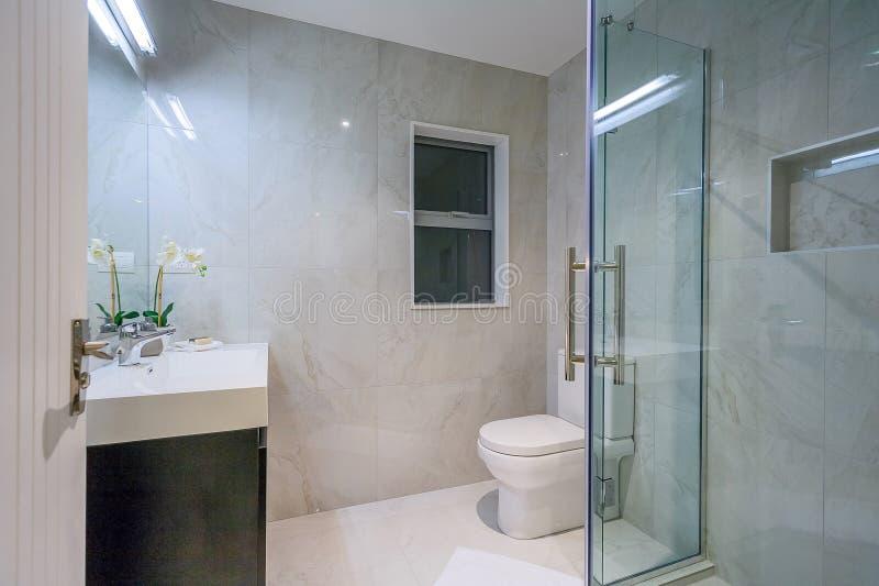 Εγχώριο washroom πολυτέλειας στοκ εικόνες