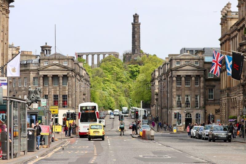 Εδιμβούργο, Σκωτία, πανόραμα στοκ εικόνες