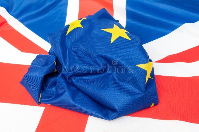 ΕΕ και UK στοκ φωτογραφία
